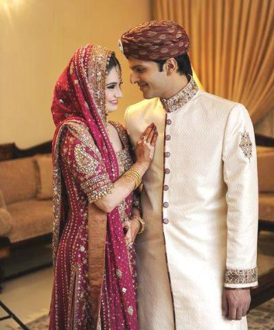 Wedding Gifts For Bride And Groom Indian : Alfa img - Showing > Lovely Indian Bride And Groom